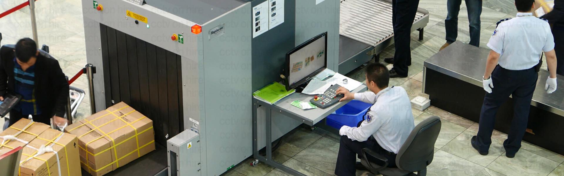 Baggage scanner rental services