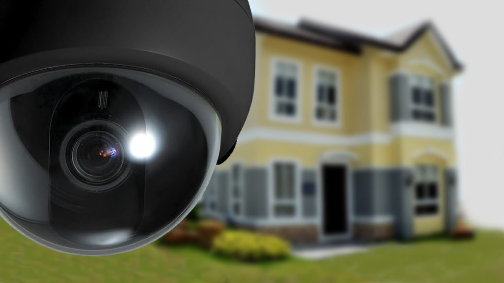 Security surveillance on rent